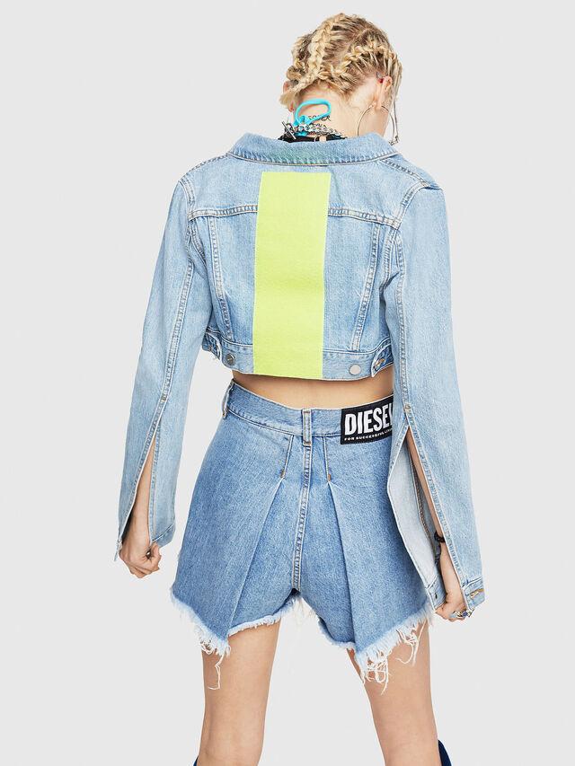Diesel - DE-ZAUPY-C, Blue Jeans - Denim Jackets - Image 2