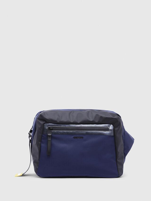 Diesel - VOLPAGO CROSSPLUS, Blue/Black - Belt bags - Image 1