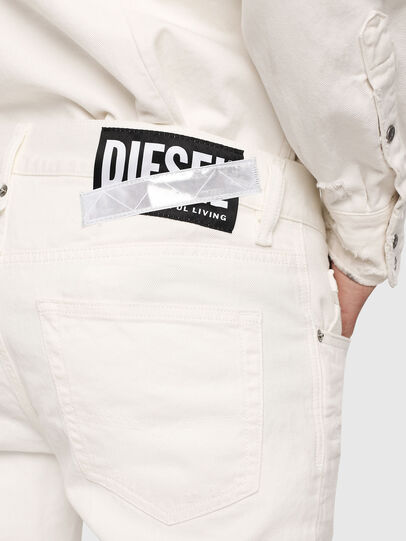 Diesel - Mharky 069EC, White - Jeans - Image 3