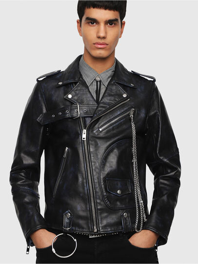 Diesel - L-KIO,  - Leather jackets - Image 1