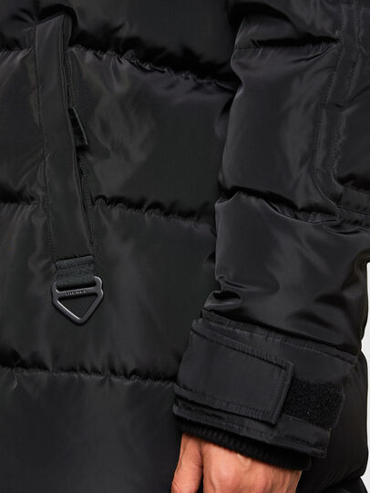 Diesel - W-RUSSELL-LONG, Black - Winter Jackets - Image 5