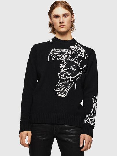 Diesel - KLATO, Black - Knitwear - Image 1