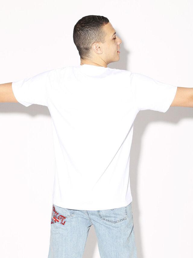 Diesel - DEIS-JUST, White - T-Shirts - Image 5