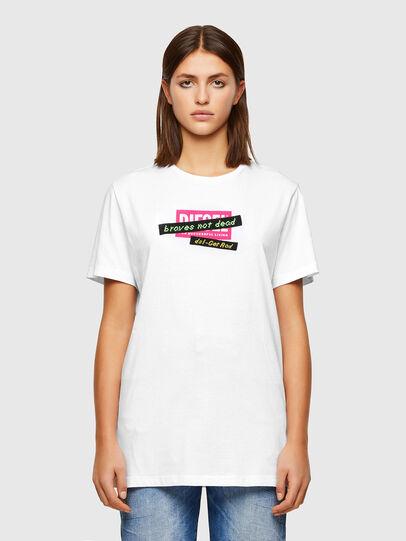 Diesel - T-DARIA-R2, White - T-Shirts - Image 1