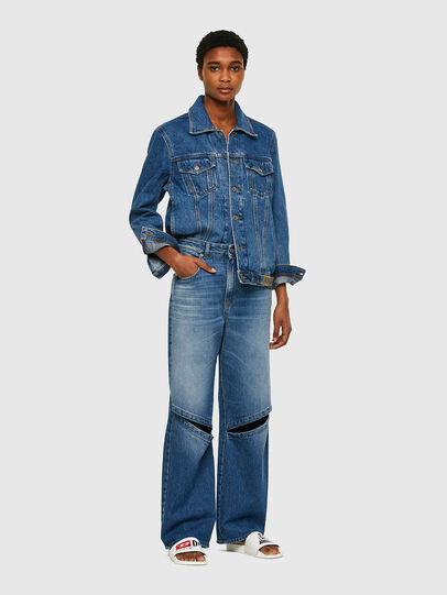 Diesel - D-Reggy 009RK, Medium blue - Jeans - Image 5