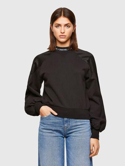 Diesel - F-TULIP, Black - Sweaters - Image 1