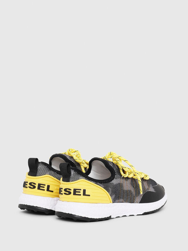 Diesel - SN LOW 10 S-K YO, Gray/Black - Footwear - Image 3