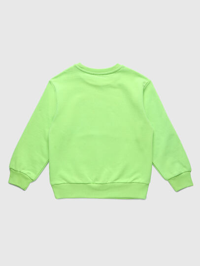Diesel - SCOLIGCODE OVER, Green Fluo - Sweaters - Image 2