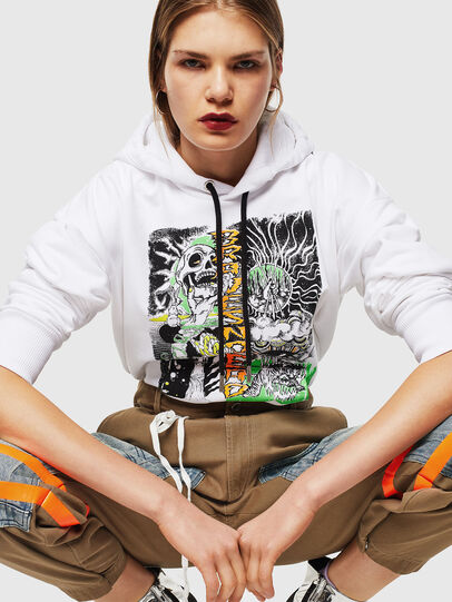 Diesel - S-ALBY-D1, White - Sweaters - Image 5