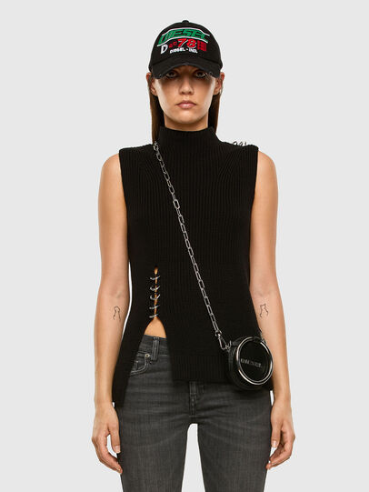 Diesel - M-ESSIE, Black - Knitwear - Image 5