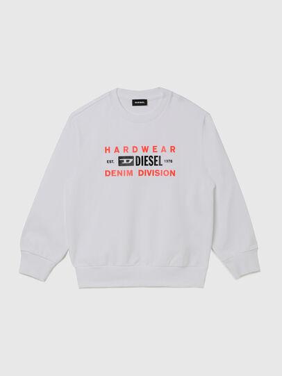 Diesel - SGIRKK10 OVER, White - Sweaters - Image 1