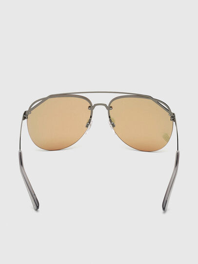 Diesel - DL0314, Grey - Sunglasses - Image 4