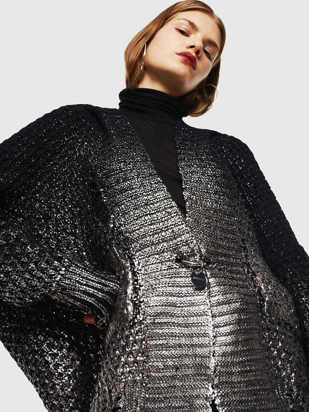 M-MIKO, Black/Silver - Knitwear
