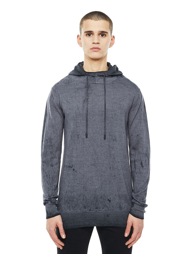 Diesel - KESULFY, Black/Grey - Knitwear - Image 1