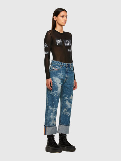Diesel - D-Reggy 0079H, Medium blue - Jeans - Image 8