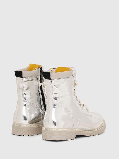 Diesel - HB LACE UP 04 CH, Silver - Footwear - Image 3