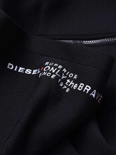 Diesel - SGORDONZIP OVER, Black - Sweaters - Image 3
