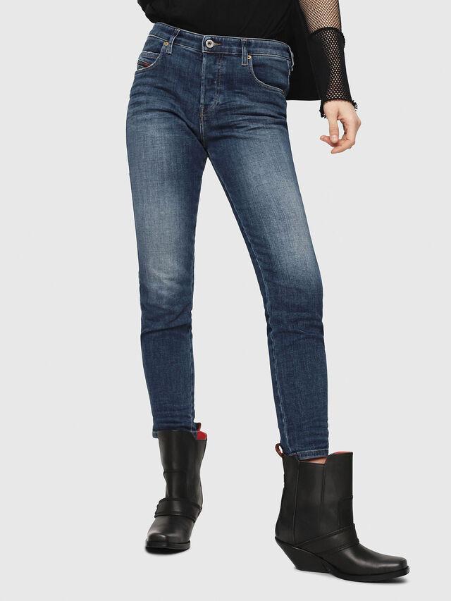 Diesel - Babhila 081AI, Dark Blue - Jeans - Image 1