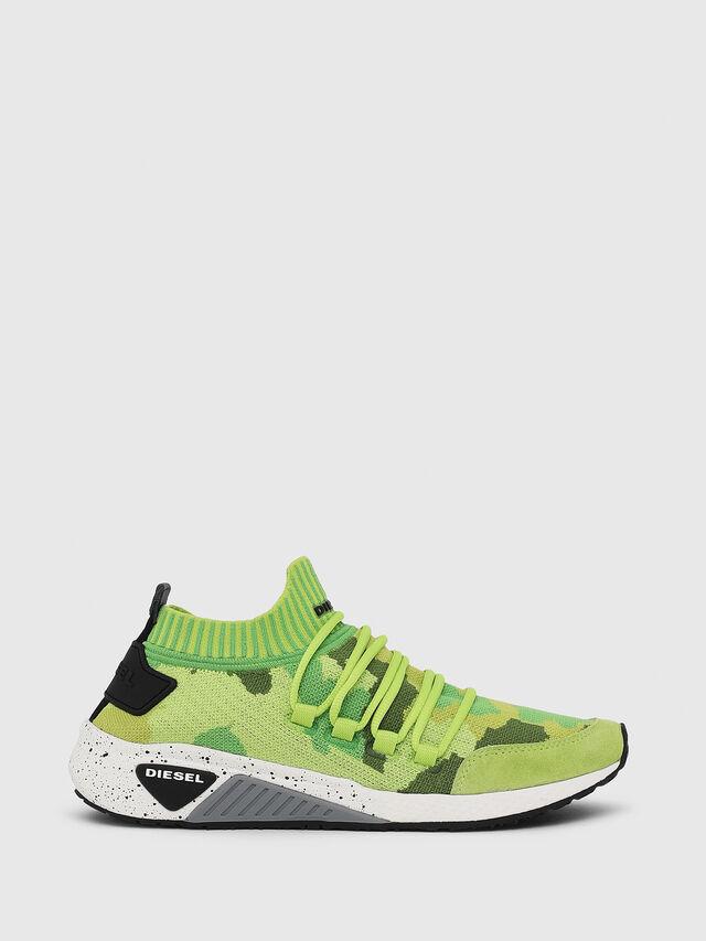 Diesel - S-KB SL W, Green Fluo - Sneakers - Image 1