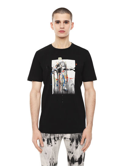 Diesel - TY-DRIPPINGSOLDIER,  - T-Shirts - Image 1