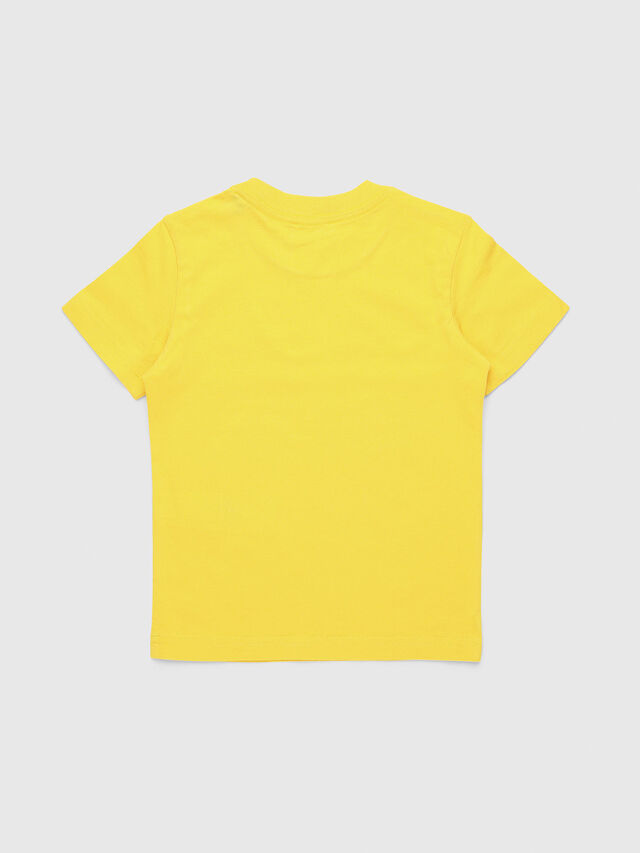 Diesel - TUCSEB-R, Yellow - T-shirts and Tops - Image 2