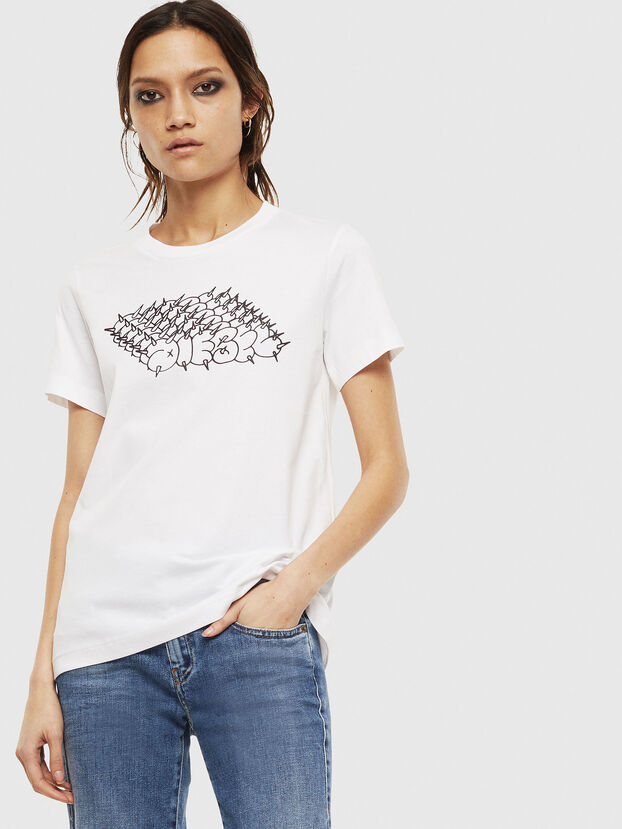 T-SILY-S6, White - T-Shirts