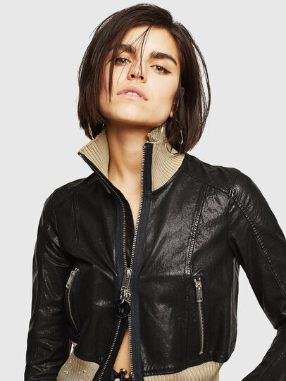 Diesel - L-LYS,  - Leather jackets - Image 3
