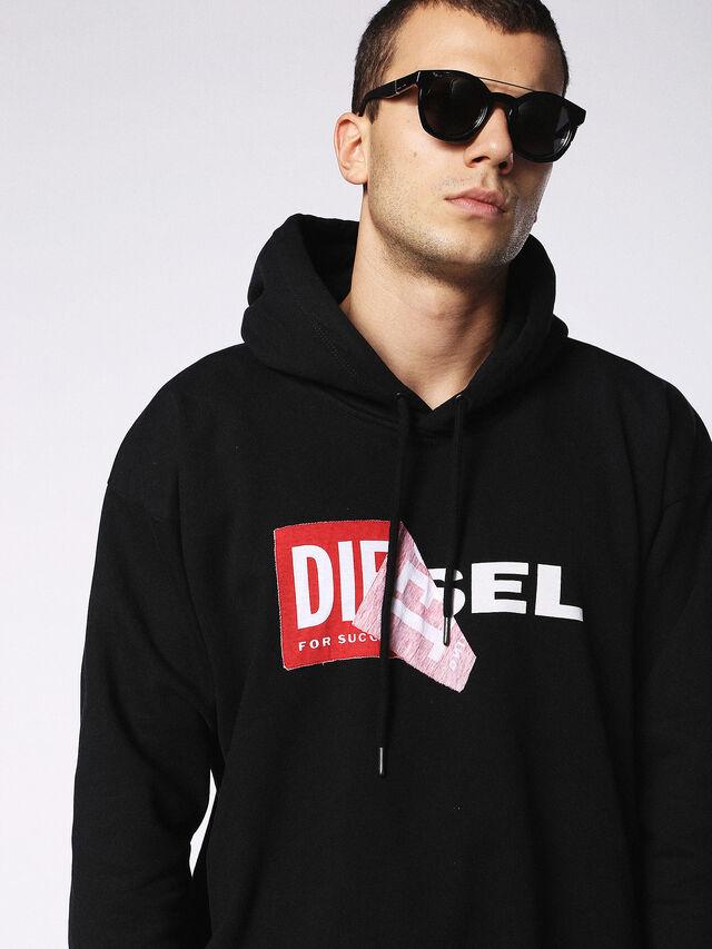 Diesel - DL0251, Bright Black - Sunglasses - Image 5