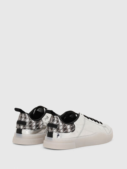 Diesel - S-CLEVER LOW LACE W, Silver - Sneakers - Image 3
