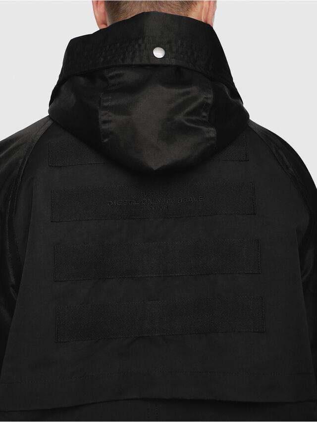 Diesel - J-RYO, Black - Jackets - Image 3