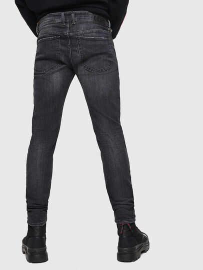 Diesel - Sleenker 084AT, Black/Dark grey - Jeans - Image 2