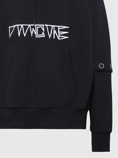 Diesel - S-ALBYBUT, Black - Sweaters - Image 3