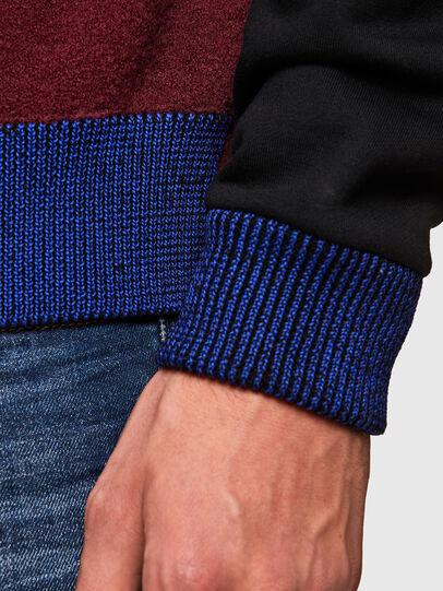 Diesel - K-PHIL, Black/Red - Knitwear - Image 4