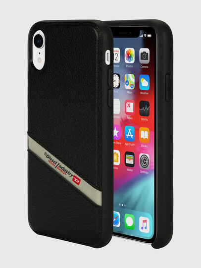 Diesel - DIESEL LEATHER CO-MOLD CASE FOR IPHONE XR,  - Cases - Image 1