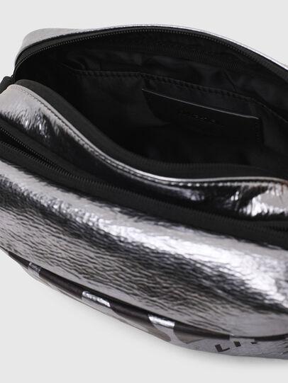 Diesel - FARAH II, Silver - Crossbody Bags - Image 4