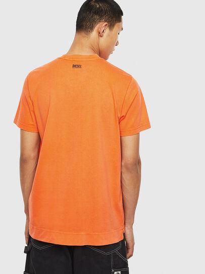 Diesel - T-THURE, Orange - T-Shirts - Image 2