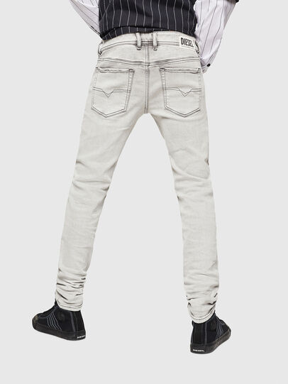 Diesel - Sleenker 0090F, Light Grey - Jeans - Image 2