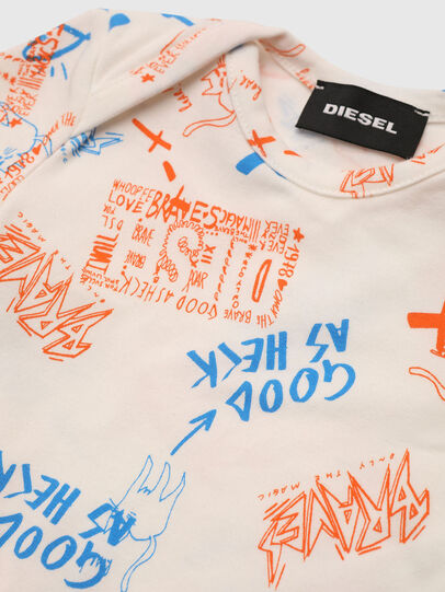 Diesel - ULENT-NB, White/Orange - Underwear - Image 3
