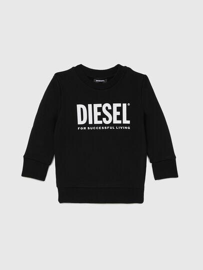 Diesel - SCREWDIVISION-LOGOB-, Black - Sweaters - Image 1