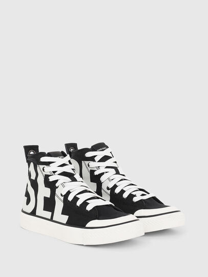 Diesel - S-ASTICO MC W, Black/White - Sneakers - Image 2