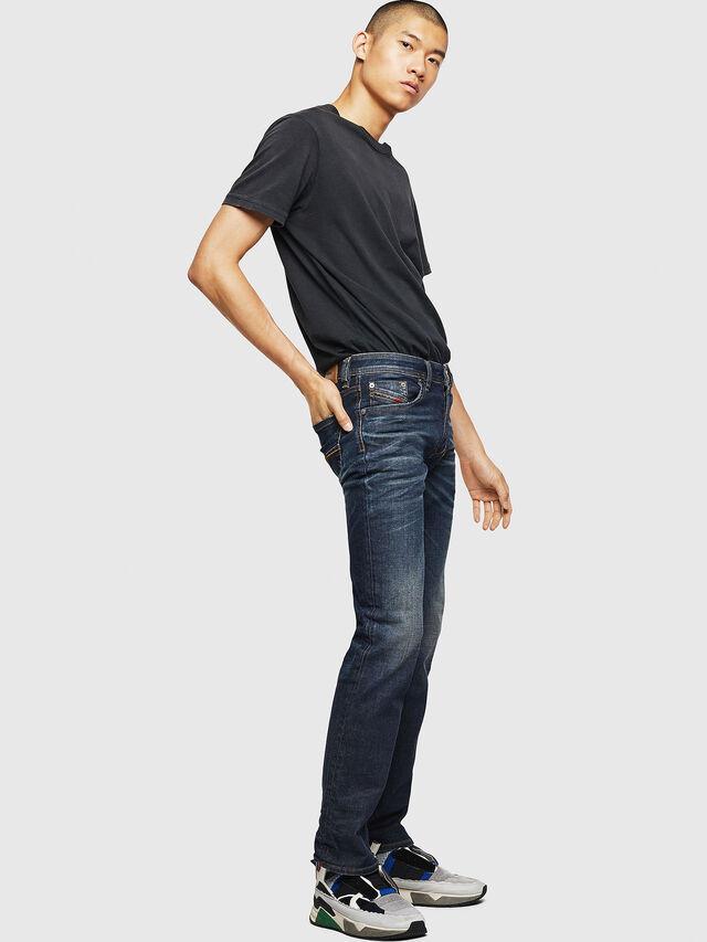 Diesel - Larkee 084ZU, Dark Blue - Jeans - Image 6
