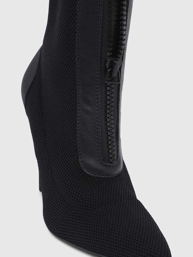 Diesel - D-SLANTY HAS, Black - Ankle Boots - Image 4