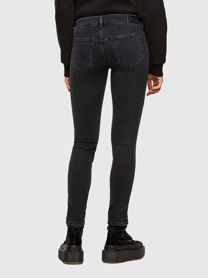 Diesel - D-Jevel 0870G, Black/Dark grey - Jeans - Image 2