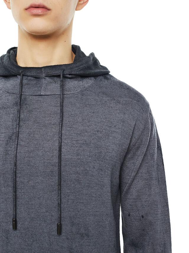 Diesel - KESULFY, Black/Grey - Knitwear - Image 3