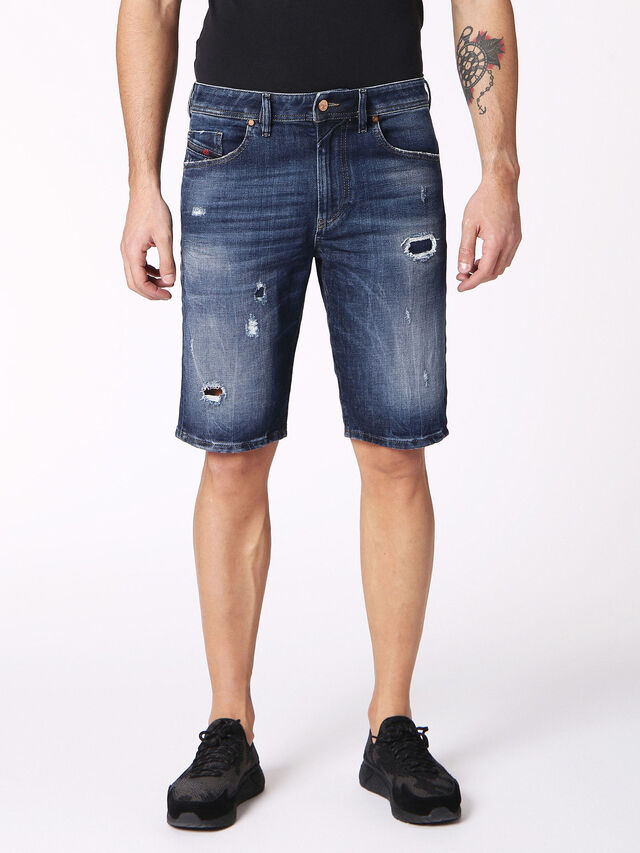 Diesel - THOSHORT, Blue Jeans - Shorts - Image 1