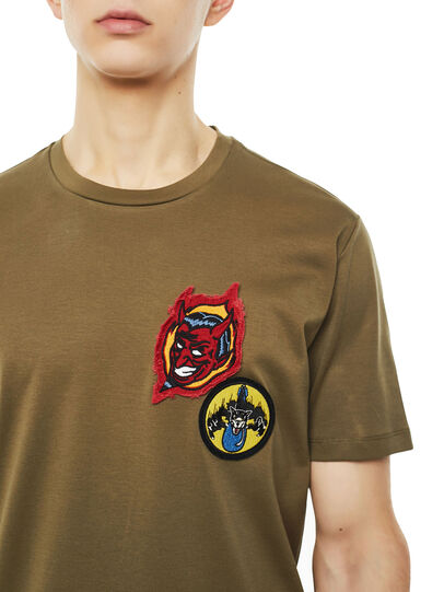 Diesel - TY-PATCHES,  - T-Shirts - Image 3
