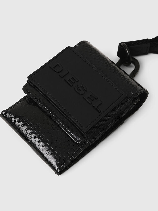 Diesel - LOSSO, Black - Small Wallets - Image 3