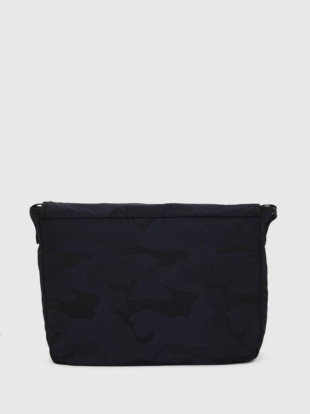 Diesel - F-DISCOVER MESSENGER, Dark Blue - Crossbody Bags - Image 2