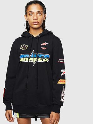 ASTARS-F-GIR-HOOD-FL, Black - Sweaters