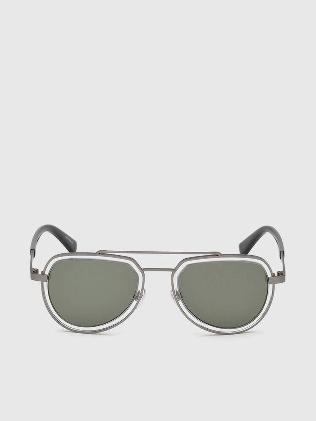 Diesel DL0266, Black/Grey - Eyewear - Image 1
